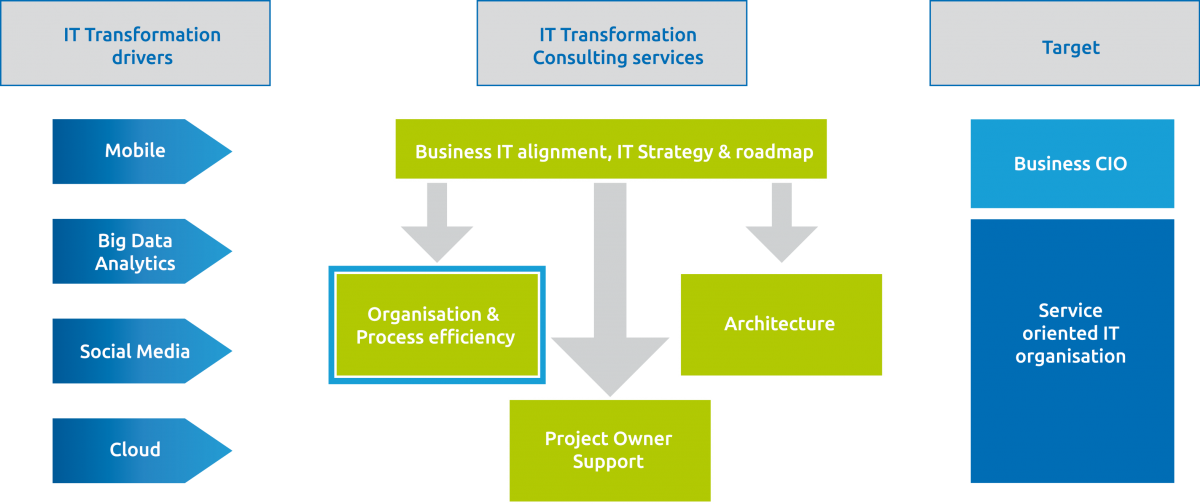 IT Transformation Organisation